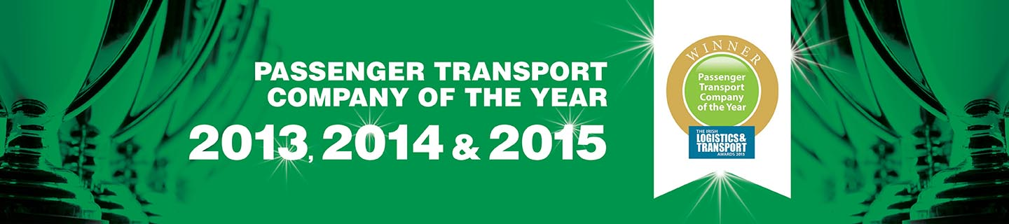 Passenger Transport Company of the Year 2013, 2014 & 2015